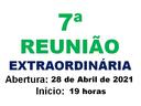 7ª REUNIÃO EXTRAORDINÁRIA